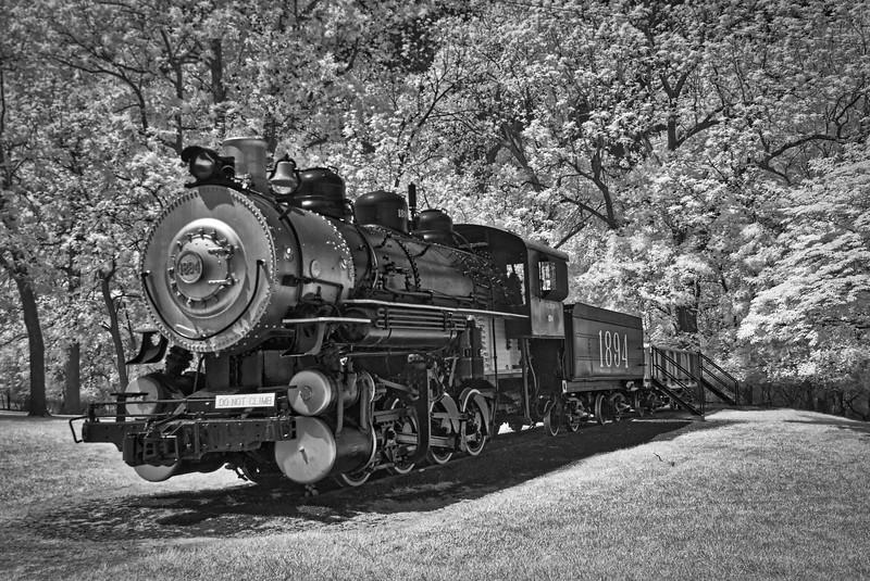 Illinois Central 1894 0-8-0 Locomotive