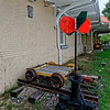 Railroad Handcar and Switch