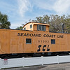 Seaboard Coast Line Railroad Caboose No. 01093