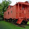 Palatka Railroad Depot Caboose