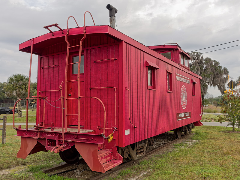 Old Caboose Near  Withlacoochee State Trail