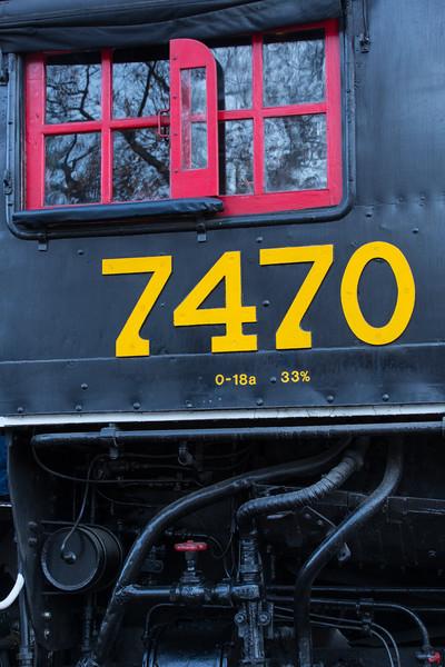 7470 Locomotive