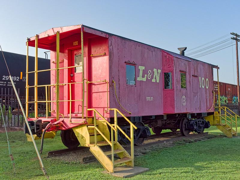 L&N Caboose at Etowah Railroad Museum