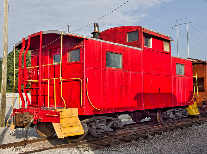Caboose at Chattanooga Grand Junction