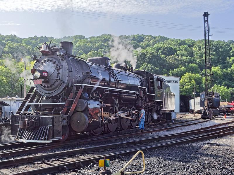 Southern Railway 4501 Steam Locomotive