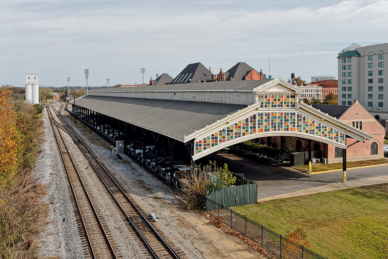 Montgomgery Union Station Train Shed