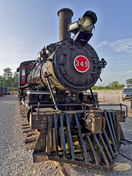 Central of Georgia Railway 349 (4-4-0)