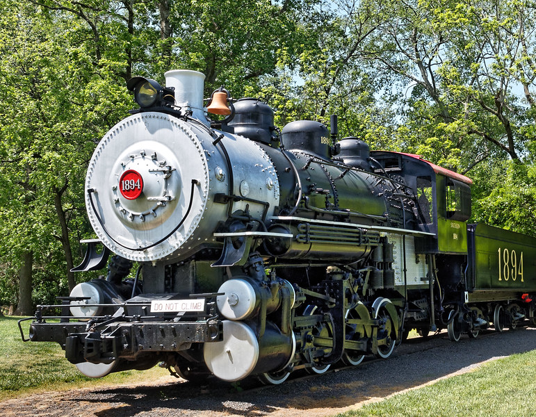Illinois Central on display at Tanglewood Park