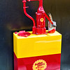 Antique Golden Shell Motor Oil Dispenser