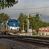 Amtrac Passenger Train Enters Thomasville