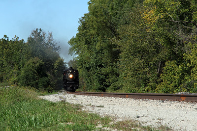 Central Ohio RR steam engine pulling the Cuyahoga Valley Scenic RR