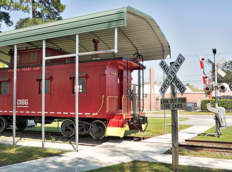 Green Cove Springs Caboose