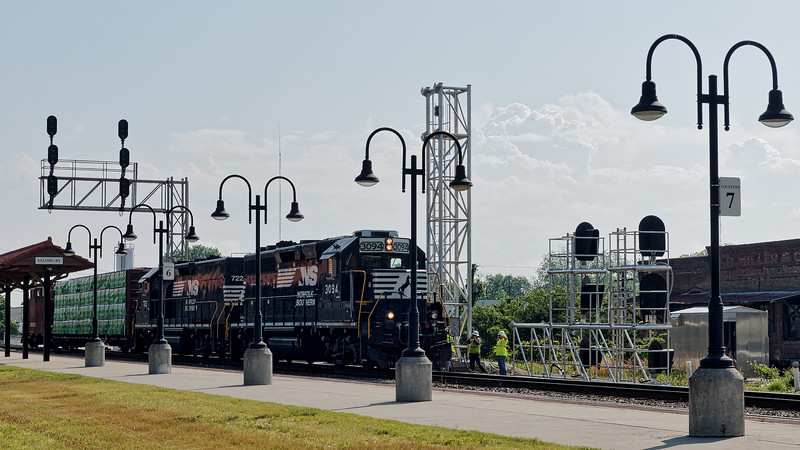 Norfolk Southern 3094 Locomotive Arrives in Salisbury