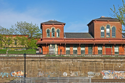 Urban Train Depot in Kent, Ohio