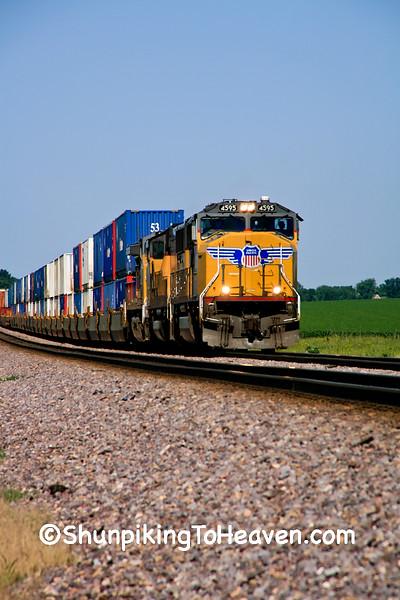 Diesel Train, Clinton County, Iowa