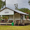 Railroad Depot in Lutz Florida