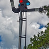Railroad Semaphore at Heritage Village