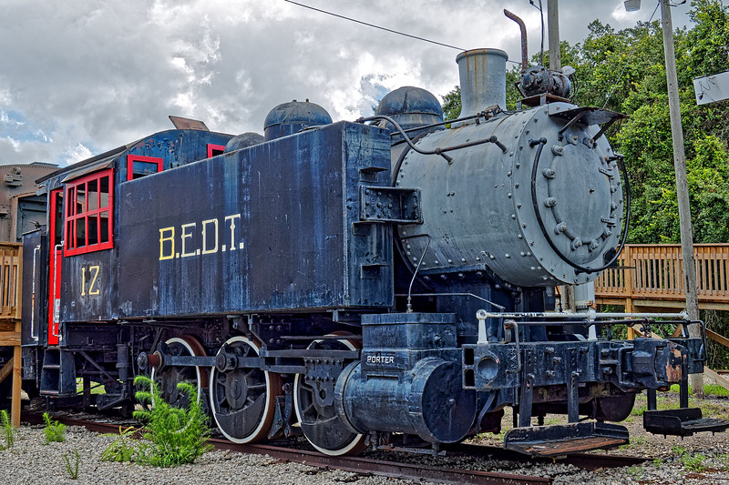 BEDT Locomotive in Parrish