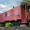 Apex Historical Society Caboose