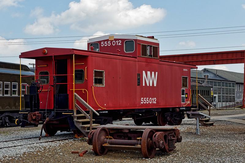 Norfolk & Western Caboose