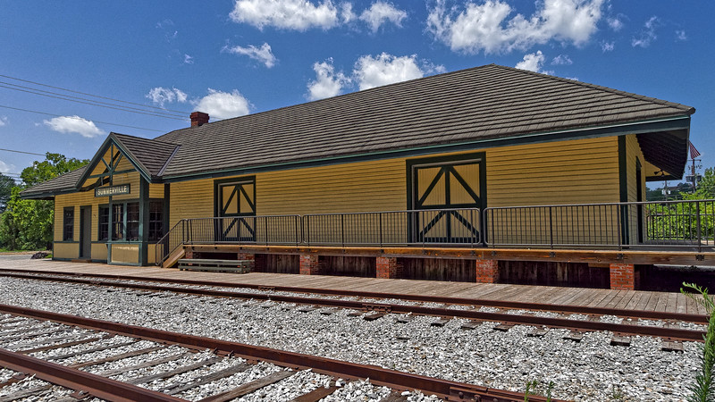 Summerville Georgia Railroad Depot