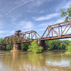 Railroad bridge over the Ocmulgee