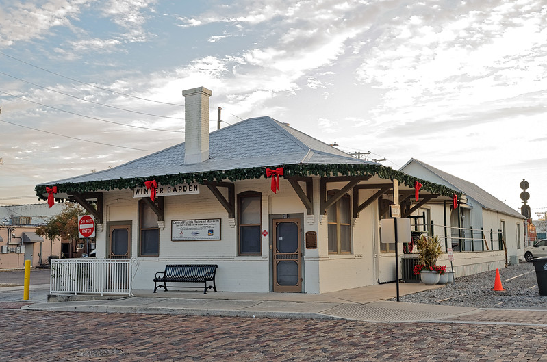 1913 Winter Garden Railroad Depot