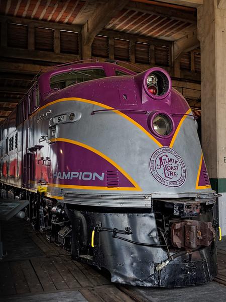 Atlantic Coast Line Locomotive 501