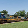 CSX Diesel Locomotive 5015 and 638