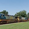 CSX Diesel Locomotive 5015 and 638
