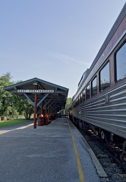 East Chattanooga Station Platform