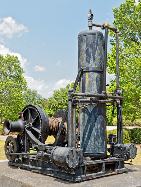 Steam Winch at North Carolina Transportation Museum