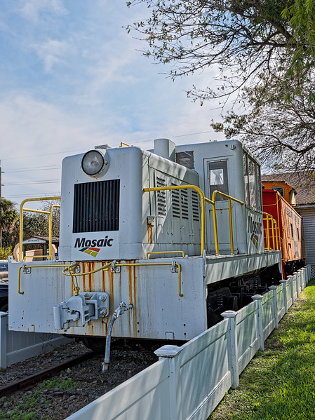 Mosaic Center-Cab Diesel Locomotive