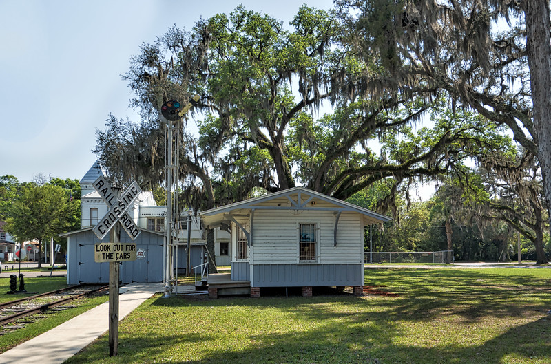 Old Green Cove Springs Train Station