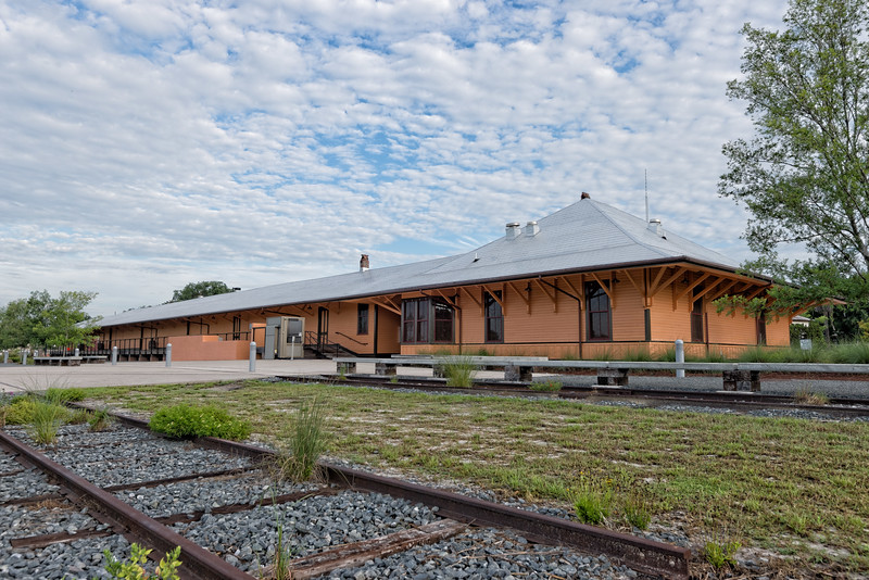 Gainesville Depot and Railroad Tracks