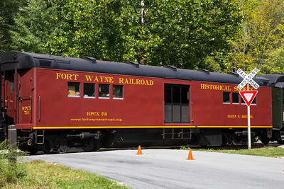 Fort Wayne Railroad Historical Society Car