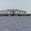 Biloxi Back Bay (swing truss) railroad bridge