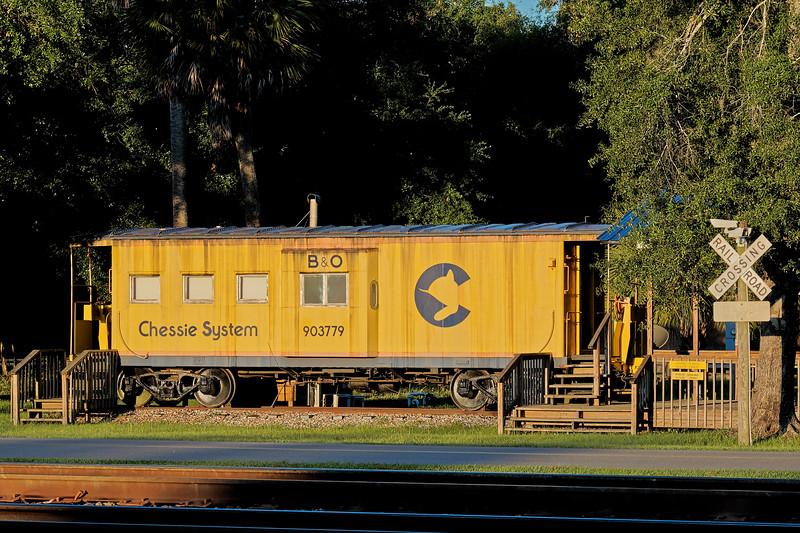 Folkson, Georiga's Chessie System Caboose