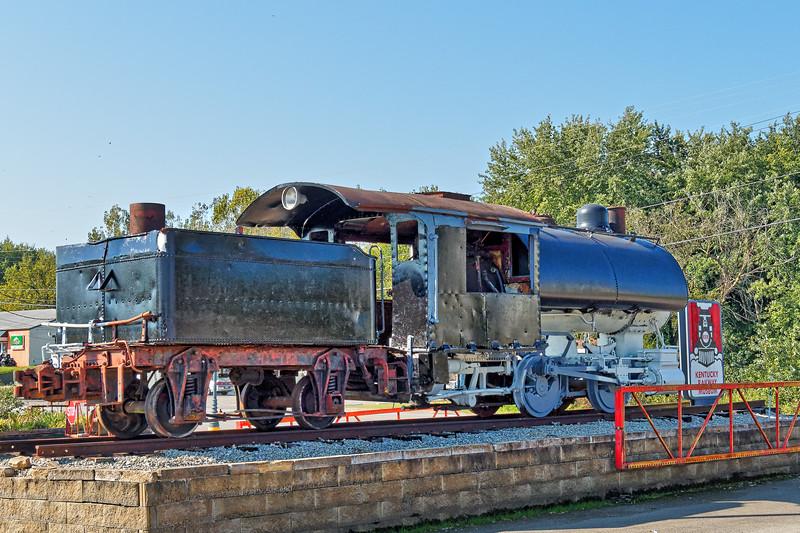 Locomotive at Entrance to Kentucky Railway Museum