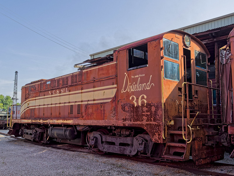 Nashville Chattanooga & St Louis Diesel Locomotive
