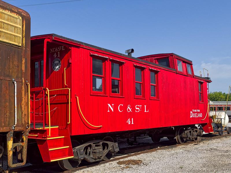 Nashville Chattanooga & St Louis Caboose