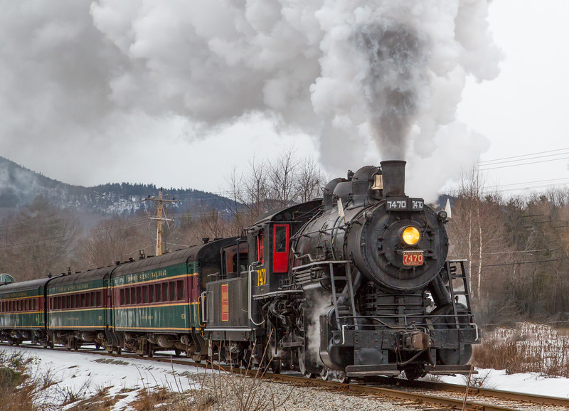 7470 Steam locomotive