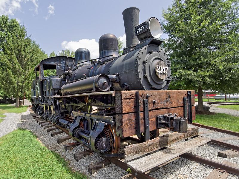 1909 Lima Locomotive Works Locomotive