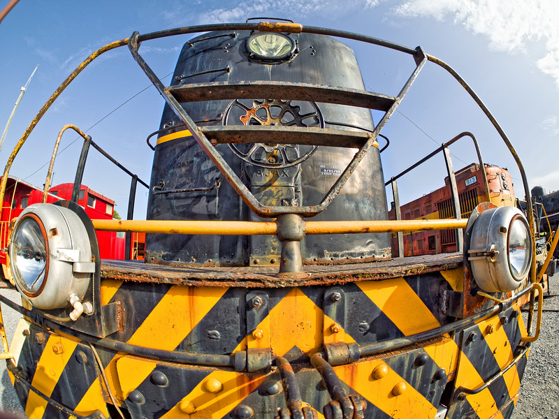"""Diesel Locomotive """"Up Close and Personal"""""""