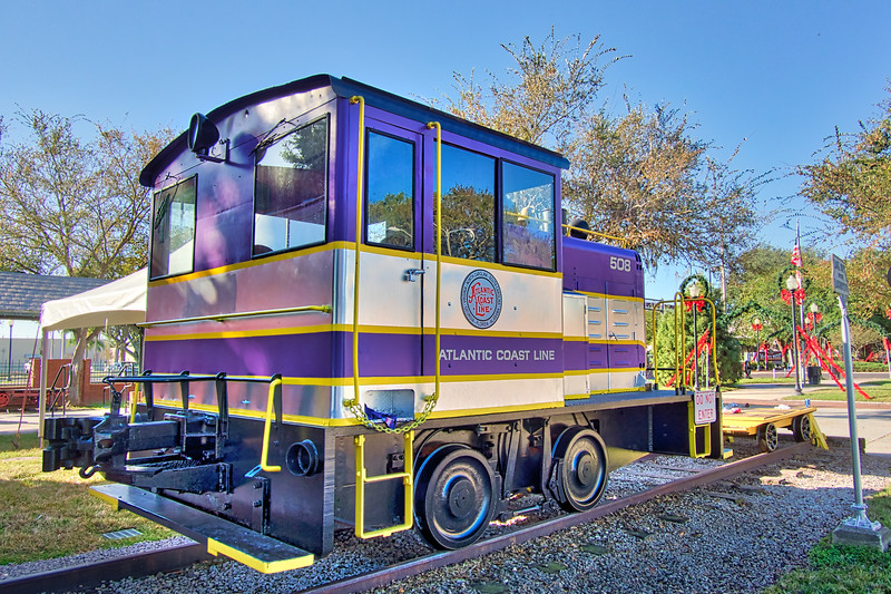 Atlantic Coast Line Locomotive 508
