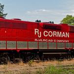 RJ Corman Railroad Company Locomotive