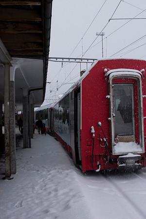Switzerland, Glacier Express SNM