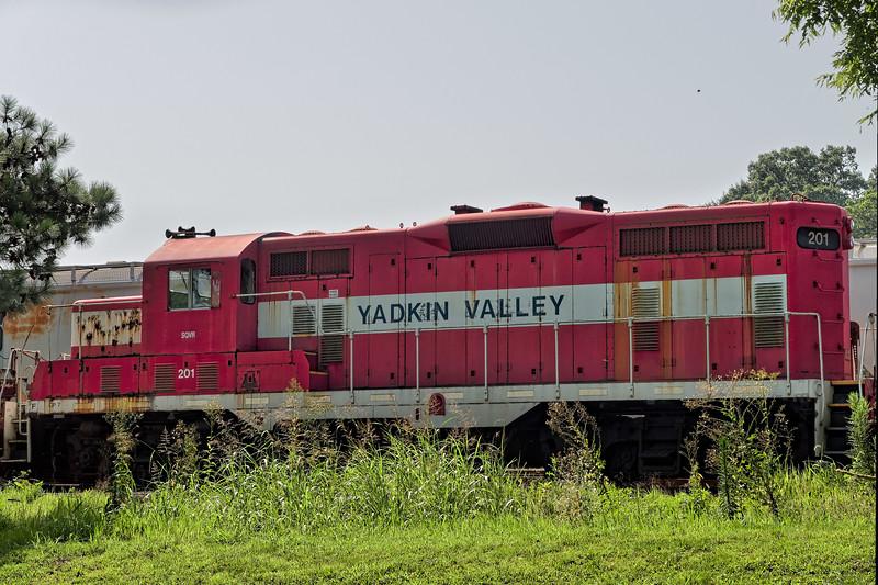 Yadkin Valley Locomotive #201