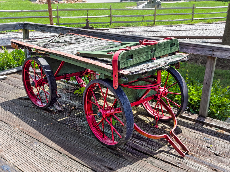 Railway Luggage Cart