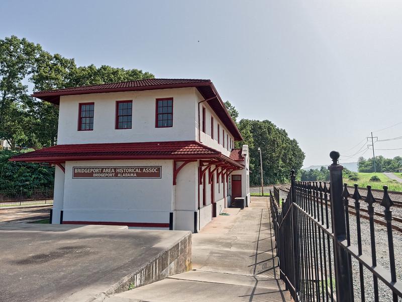 Bridgeport Depot, built in 1917
